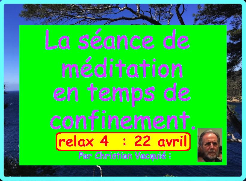 méditation 22 avril