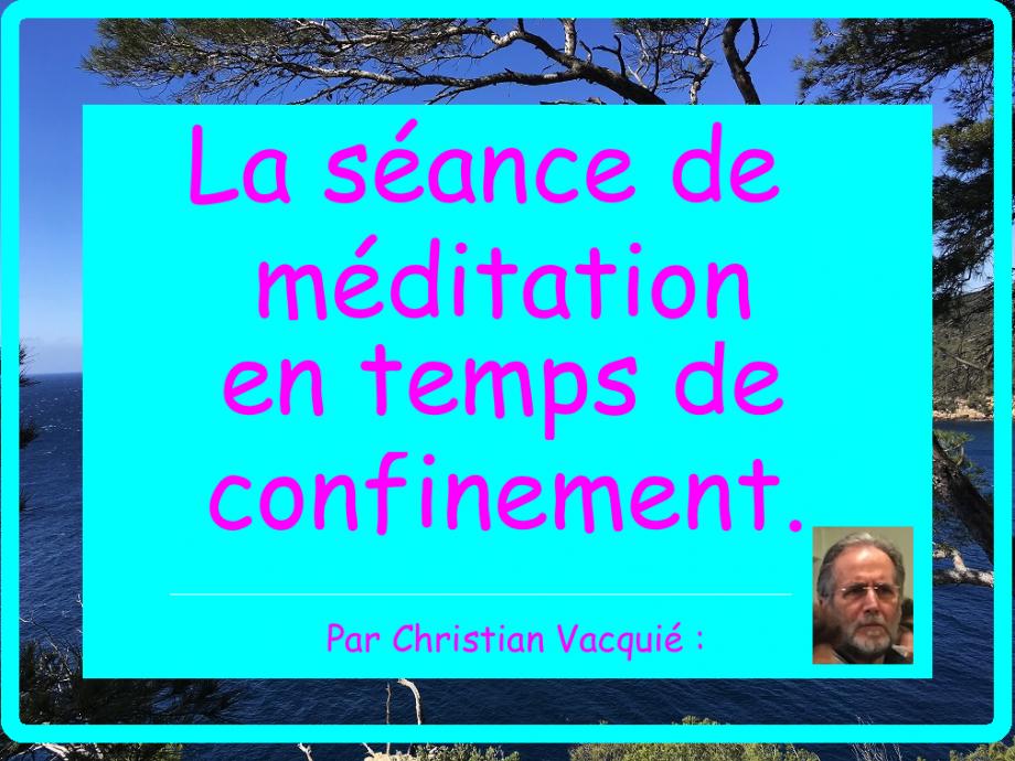 méditation christian