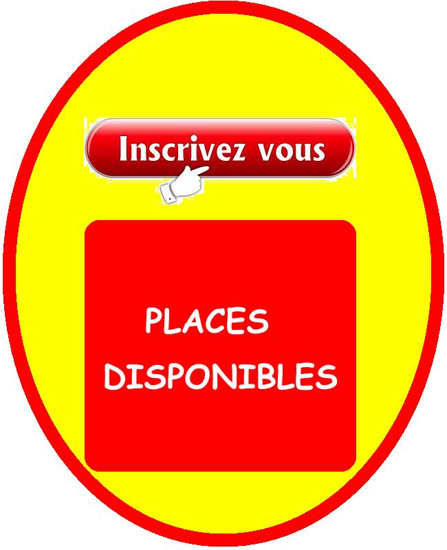 places disponibles