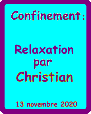 relaxation chr  13:11:2020