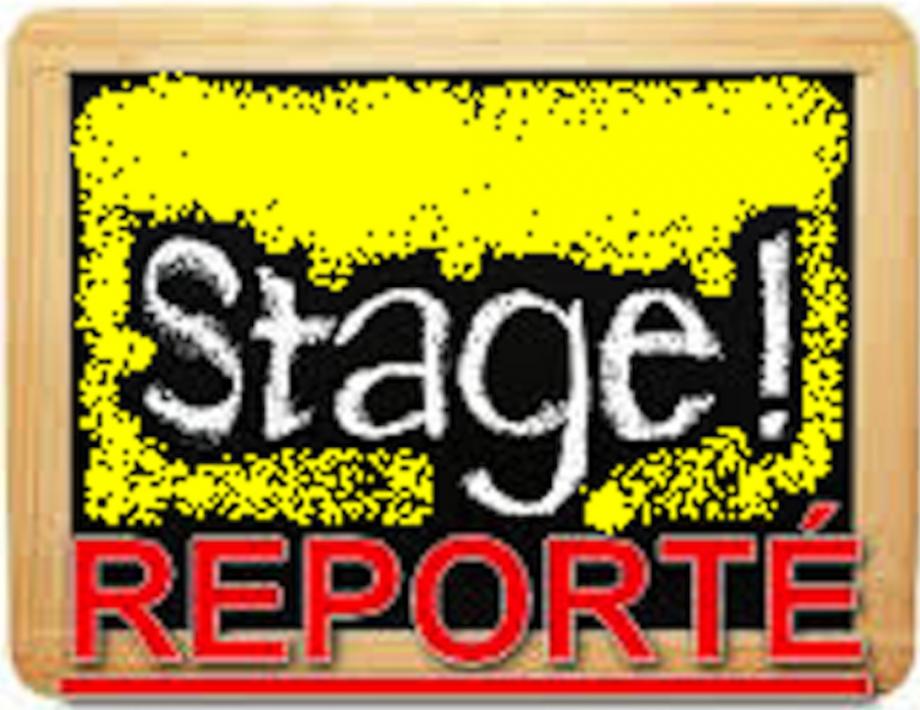 STAGE REPORTÉ