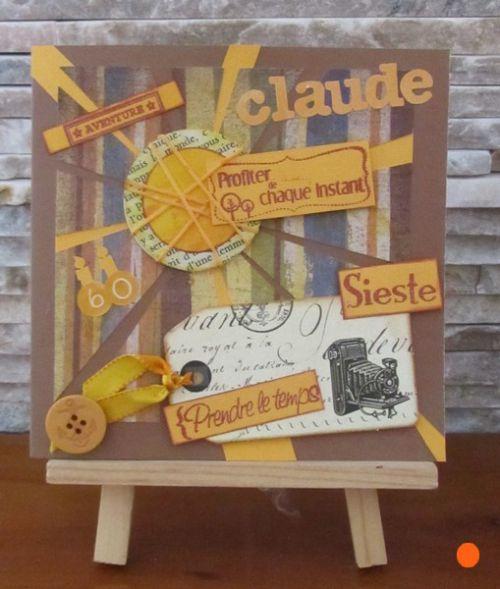 Pour les 60 ans de Claude