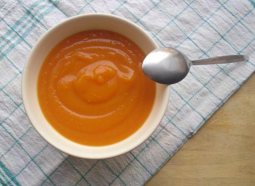 Une jolie soupe de carottes