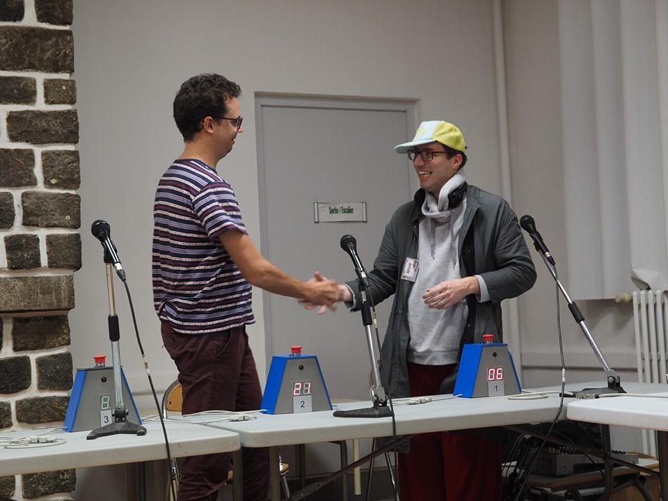 L'image finale du tournoi  Sébastien empile une nouvelle victoire