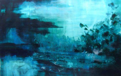 Aquamarine solitude