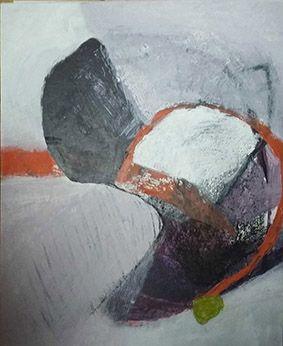 Papier Steinback marouflé sur toile 50X60