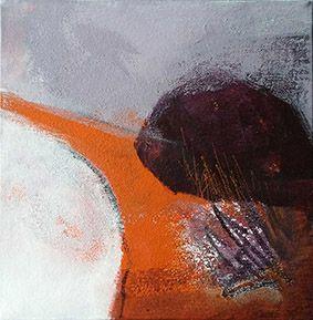 Acrylique et matières sur toile 20X20