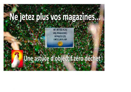 que faire de vos magazines lus et relus?