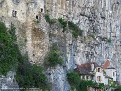 Cabrerets et le château du Diable - Vallée du Célé - 30 juin 2013.JPG