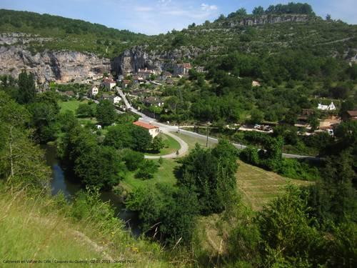 Cabrerets dans la vallée du Célé - Lot - 2 juillet 2013.JPG