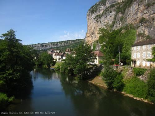 Village de cabrerets - Vallée du Célé - Quercy -  2 juillet 2013.JPG