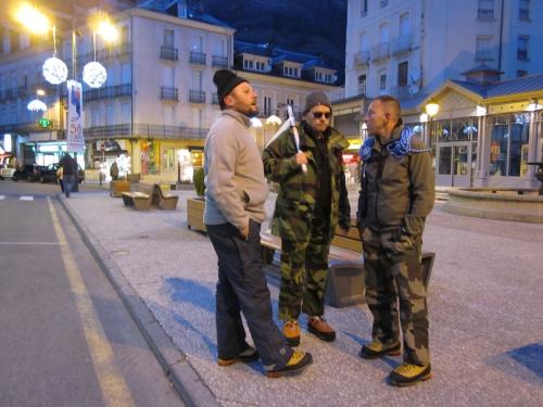 l'équipe des Tontons flingueurs  à Cauterets- 17-01-2014.JPG