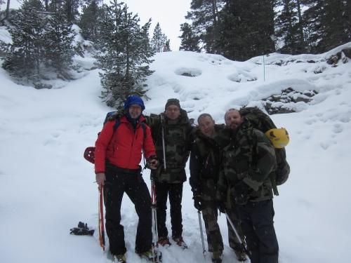 Vers le refuge Wallon - Vallée du Marcadau à 1600 m. 18-01-2014.JPG