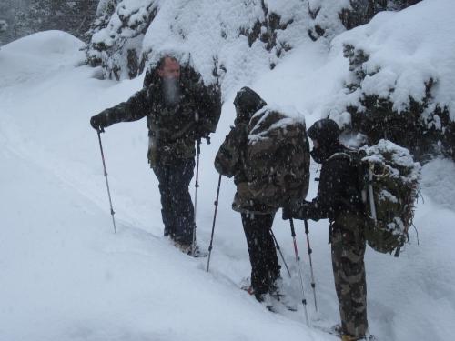 Vers le refuge Wallon la neige est bien là - 18-01-2014.JPG