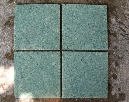 Green Stone 200x200x12-top view (WET).JPG