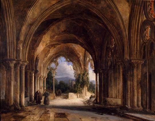 moines-dans-une-eglise-gothique-en-ruines---charles-caius-renoux.jpg