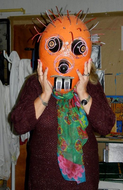 Les masques avec largile pour les taches de pigment