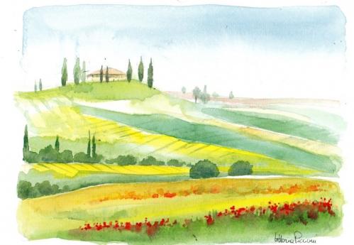 Les collines toscanes.jpg