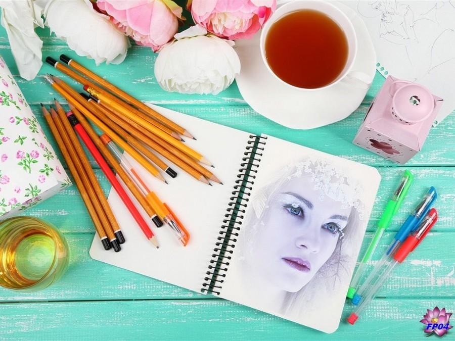 2016-11-08 - Pencils - notebook - tea - flowers (5).jpg