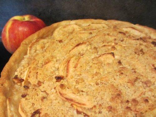 Tarte aux pommes et crumble plaisir et gourmandise chez - Tarte aux pommes compote maison ...
