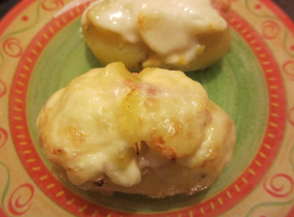 Pommes de terre farcies la raclette plaisir et gourmandise chez sophie - Quantite pomme de terre raclette ...