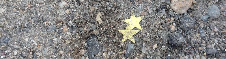 Les étoiles dans le caniveau