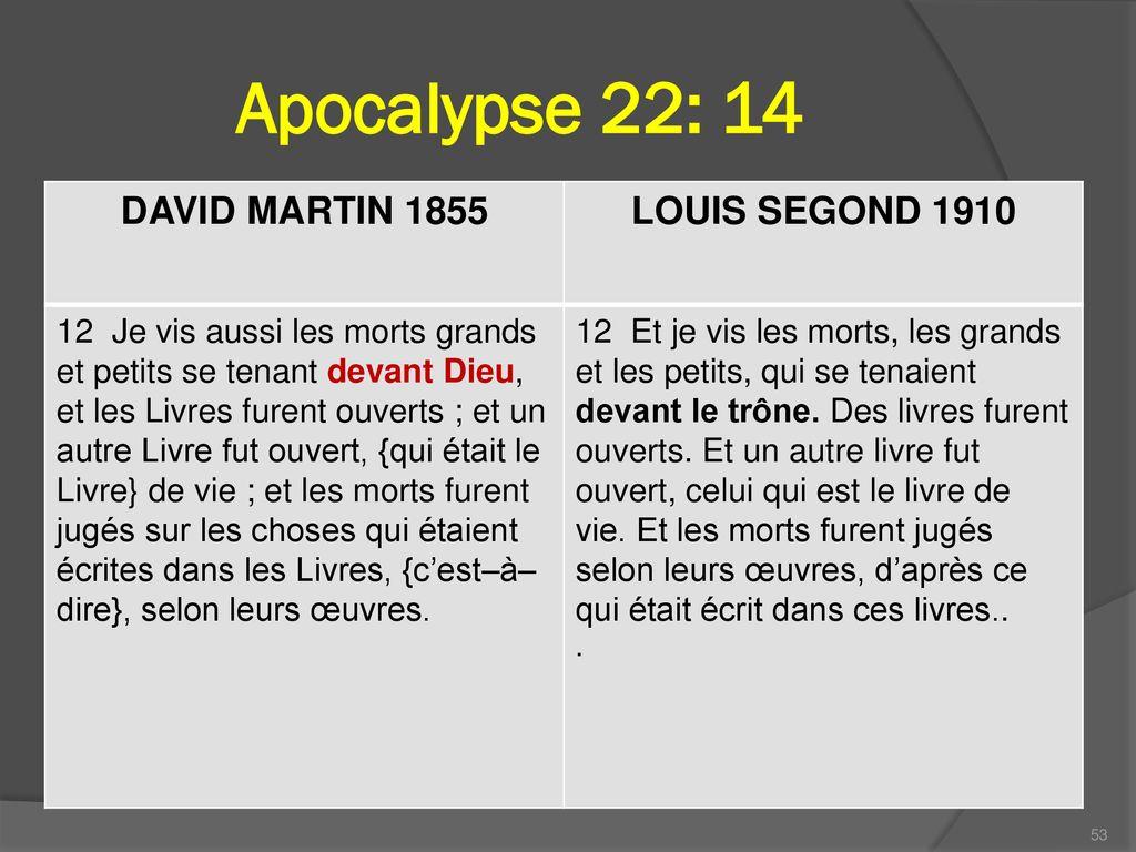 Apocalypse+22 +14+DAVID+MARTIN+1855+LOUIS+SEGOND+1910