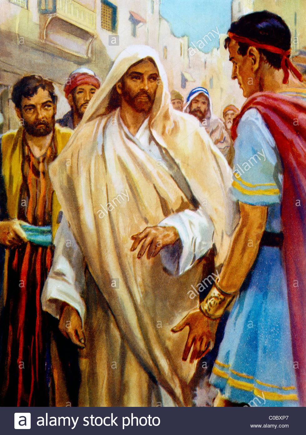 jesus-s-etonne-de-la-foi-du-centurion-par-henry-peinture-coller-bible-story-c0bxp7