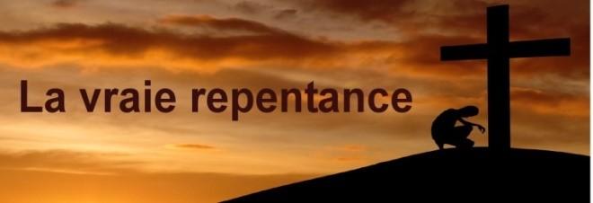 La vrai repentance