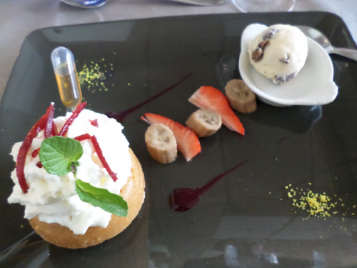 Savarin tradition crème vanille et rhum maison