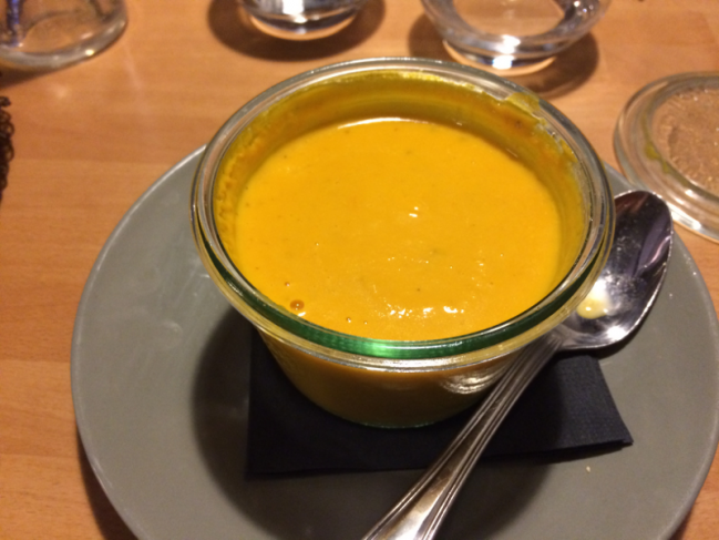 Soupe de carottes au cumin