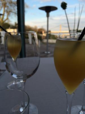 Deux cocktails maison