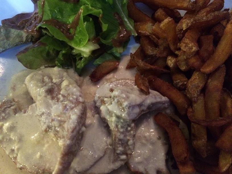Rôti de veau au camembert