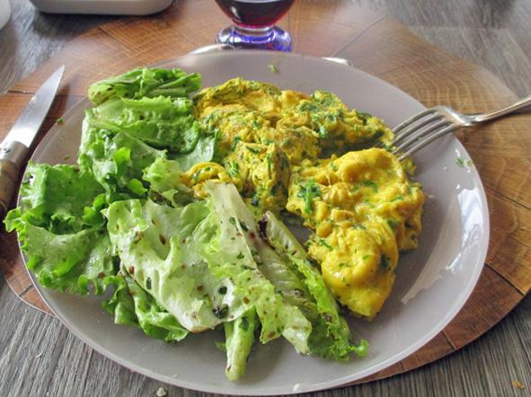 1. Omelette fines herbes.JPG