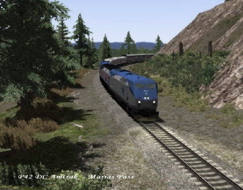 P42 DC Amtrak  - Marias Pass 01.jpg