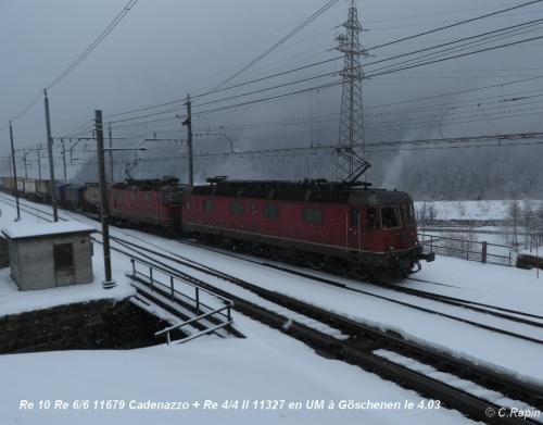 Re 10 Re 66 11679 Cadenazzo + Re 44 II 11327 UM Goeschenen 4.03.jpg