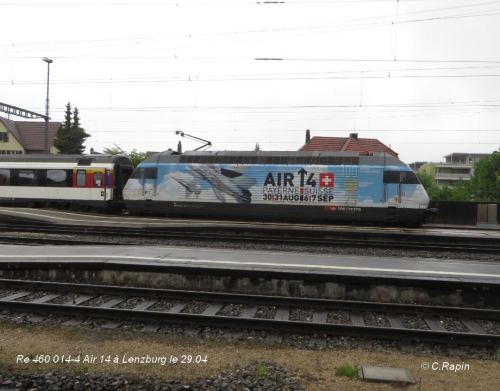Re 460 014-4 Air 14 à Lenzburg le 29.04.jpg