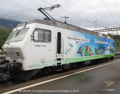 Re 456 091-8 Voralpen Express à Art-Goldau le 30.05.jpg