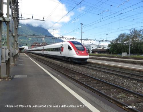 RABDe 500 012-5 ICN Jean Rudolf Von Salis à Arth-Goldau le 15.07.jpg