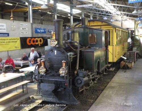 Loc. vapeur le Doubs + voiture Bernina .jpg