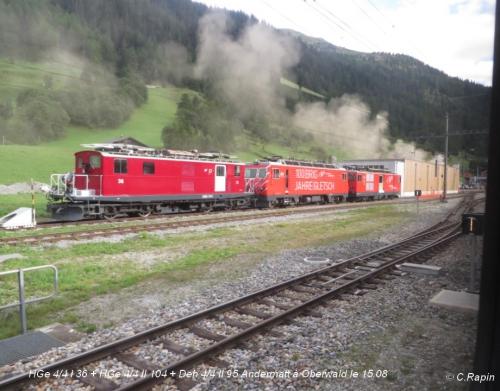 HGe 44 I 36 + HGe 44 II 104 + Deh 44 II 95 Andermatt à Oberwald le 15.jpg