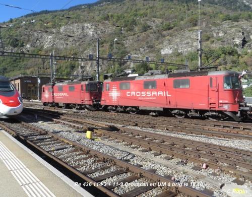 03 Re 436 114-3 + 11-9 Crossrail en UM à brig le 18.10.jpg