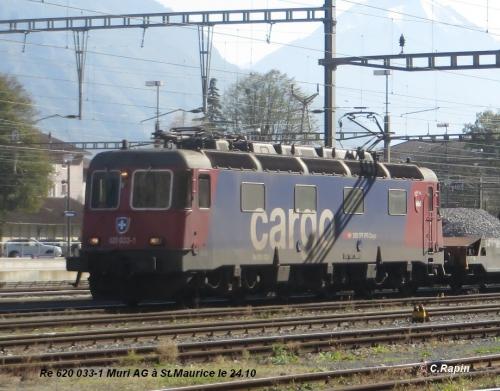 Re 620 033-1 Muri AG à St.Maurice le 24.10.jpg