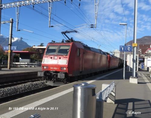 Br 185 DB en UM à Aigle le 20.11.jpg