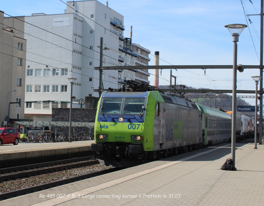 Re 485 007-9 BLS Cargo connecting europe à Pratteln le 31.03..jpg