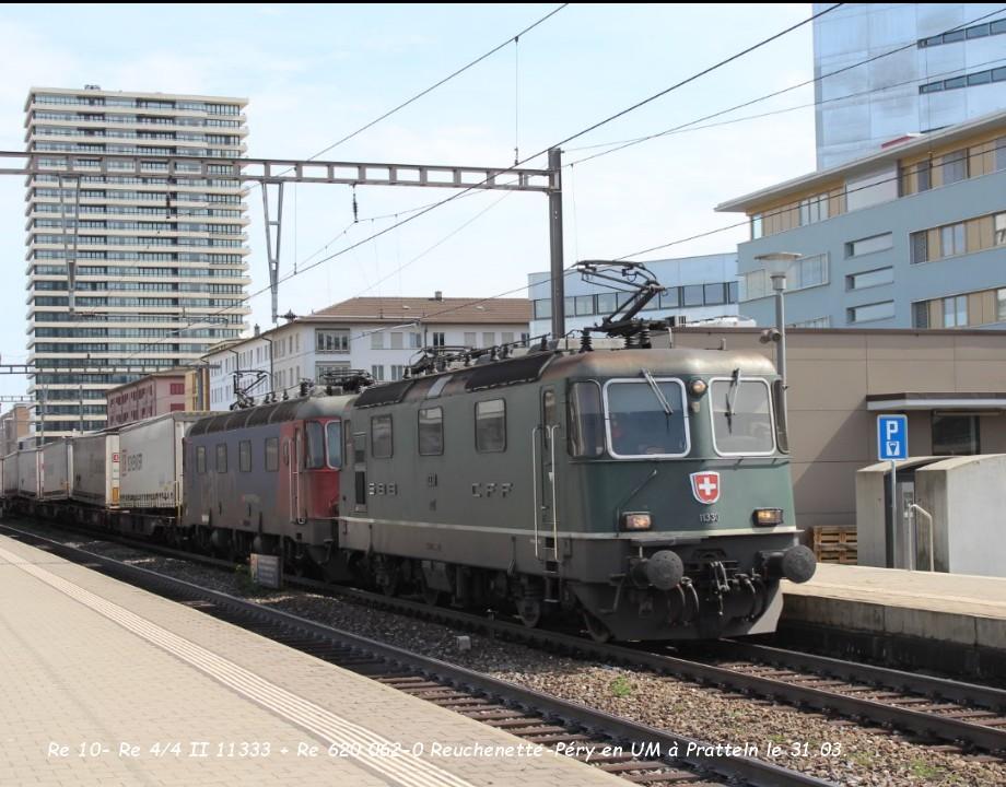 Re 10- Re 44 II 11333 + Re 620 062-0 Reuchenette-Péry en UM à Pratteln le 31.03..jpg