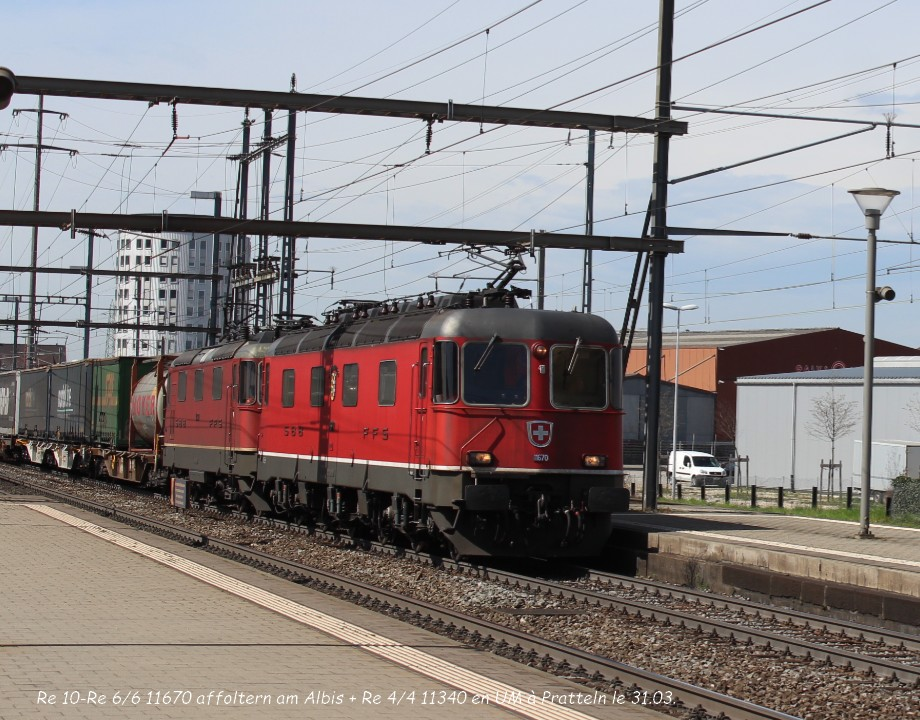 04.Re 10-Re 66 11670 affoltern am Albis + Re 44 11340 en UM à Pratteln le 31.03..jpg