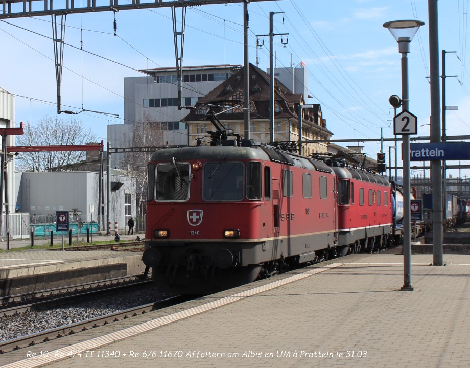 05.Re 10- Re 44 II 11340 + Re 66 11670 Affoltern am Albis en UM à Pratteln le 31.03..jpg