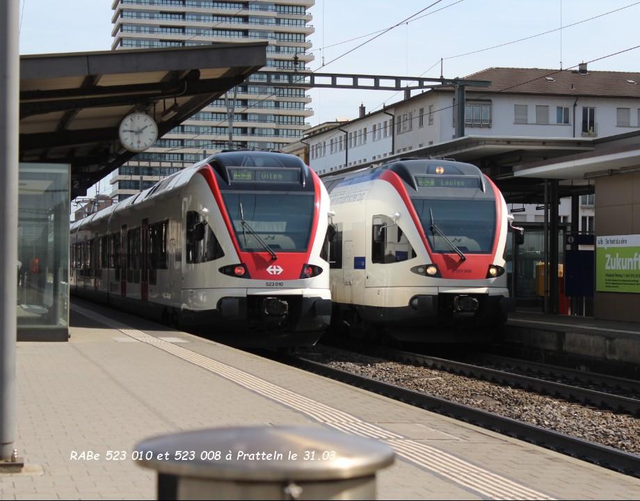 08.RABe 523 010 et 523 008 à Pratteln le 31.03..jpg