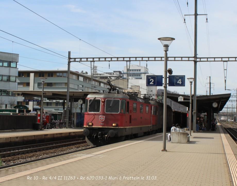 09.Re 10 - Re 44 II 11263 + Re 620 033-1 Muri à Pratteln le 31.03..jpg